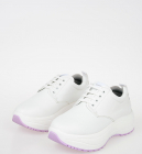 Leather Delivery Platform Sneakers