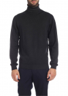 Etro Turtleneck Pullover In Anthracite Color