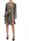 Etro Paisley Print Dress In Shades Of Green