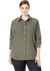 Plus Size 3019 Solid Broadcloth Olive