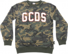 Crewneck Sweatshirt In Camouflage Fabric