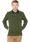 Long Sleeve Interlock Sweatshirt 1 2 Zip up