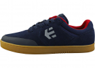 Marana Skate Trainers In Navy Red Gum