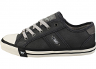 Lace up Low Top Casual Trainers In Graphite