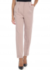 Antique Pink Cuffed Trousers