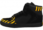 Vaider Caution Fashion Trainers In Black Yellow