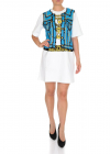 Moschino Capsule Collection Pixel Dress In White