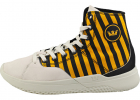 Statik Caution Fashion Trainers In Yellow Black