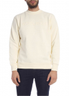Cream Colored Sweatshirt With Logo