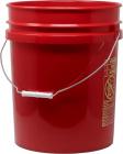 Accesoriu Intretinere Auto Galeata Spalare Auto Pro Detailing Grit Guard Bucket 19 Litri  Rosu