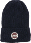 Film Beanie In Navy Blue With Logo Patch