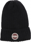 Film Beanie In Black With Logo Patch