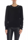 Black Pullover With Studs