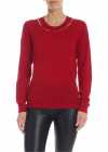 Red Pullover With Studs