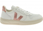 V 10 Sneakers In White And Pink