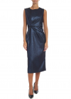 Primer Dress In Black And Lamé