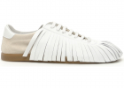 Fringed Leather Sneakers