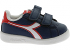Game P Td Sneakers In Blue And Red