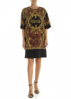 Versace Jeans Couture Dress In Black