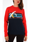 Roundneck Embroidered Pullover