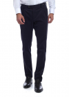 Stretch Cotton Trousers Blue