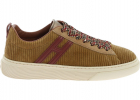 H365 Sneakers In Beige Corduroy