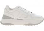 White Sneakers With Rubber Details