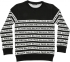 Black Sweatshirt With Balmain Logo