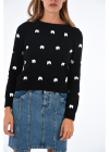 Boutique Bow Embroidered Sweater