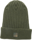 Logo Patch Beanie In Military Green
