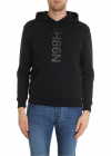 Black Sweatshirt With N98h Logo