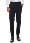 Black Trousers With Elastic At The Waist