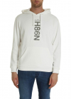 Ivory Sweatshirt With N98h Logo