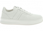White Sneakers With T Logo