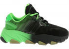 Extasy Sneakers In Black And Fluo Green