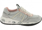 Layla Sneakers In Gray And Pink