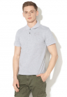 Tricou Polo Slim Fit Cu Logo Brodat