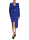 Magic Dress In Blue Electric Color