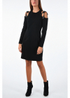 Couture Long Sleeve A Line Dress