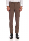 Super Slim Fit Trousers In Brown