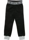 Black Trousers With Logo