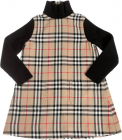 Adeline Dress With Vintage Check Pattern