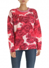 Pink Pullover With Floral Pattern