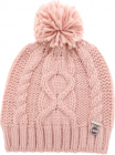 Honey Beanie In Pink With Logo