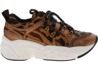 Avi Brown Sneakers With Animal Pattern
