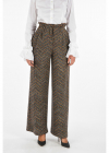 Virgin Wool Knitted Pants