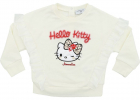 Ivory Sweatshirt With Hello Kitty Patch
