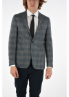 Cc Collection District Check 2 button Right Jacket With Side
