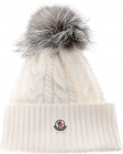 White Wool And Cashmere Beanie