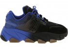 Extasy Sneakers In Black And Blue